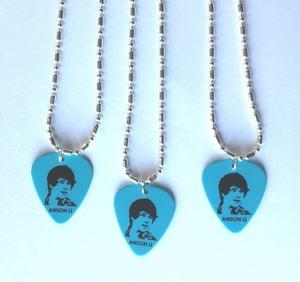 Image of Anson Li Guitar Pick Necklace (Blue)