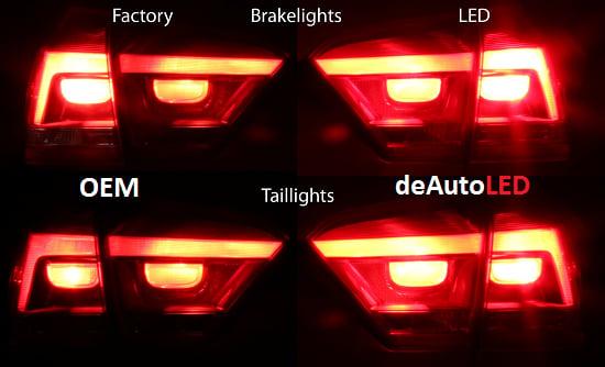 Image of Complete Brake CREE/SMD LED - Bright - Error Free fits: Passat B7