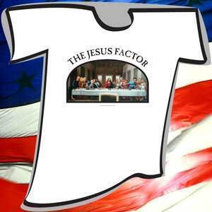 Image of Brian Dykstra  THE JESUS FACTOR T-Shirt