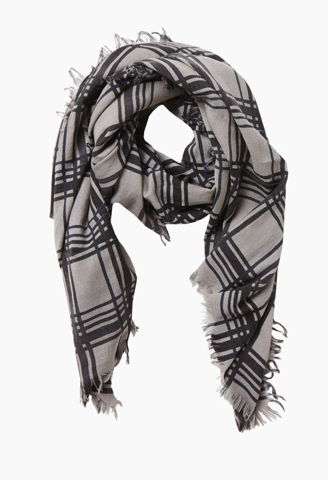 Image of EBBA SCARF - CHECKED