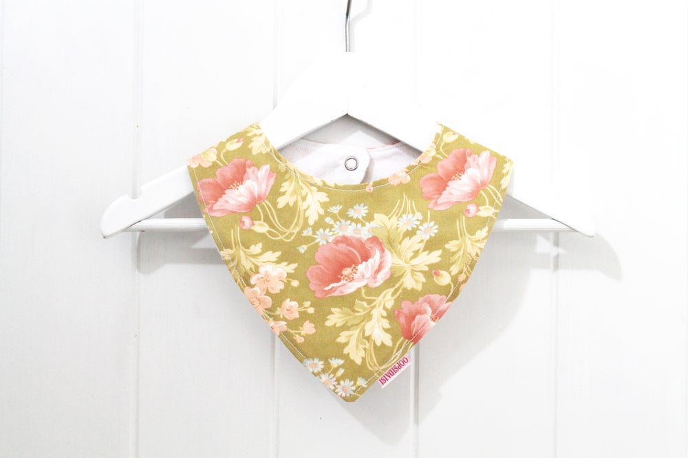 Image of Bandana Bib - Fresh Flowers