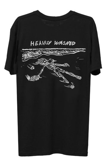 Image of HEAVILY WASHED TEE