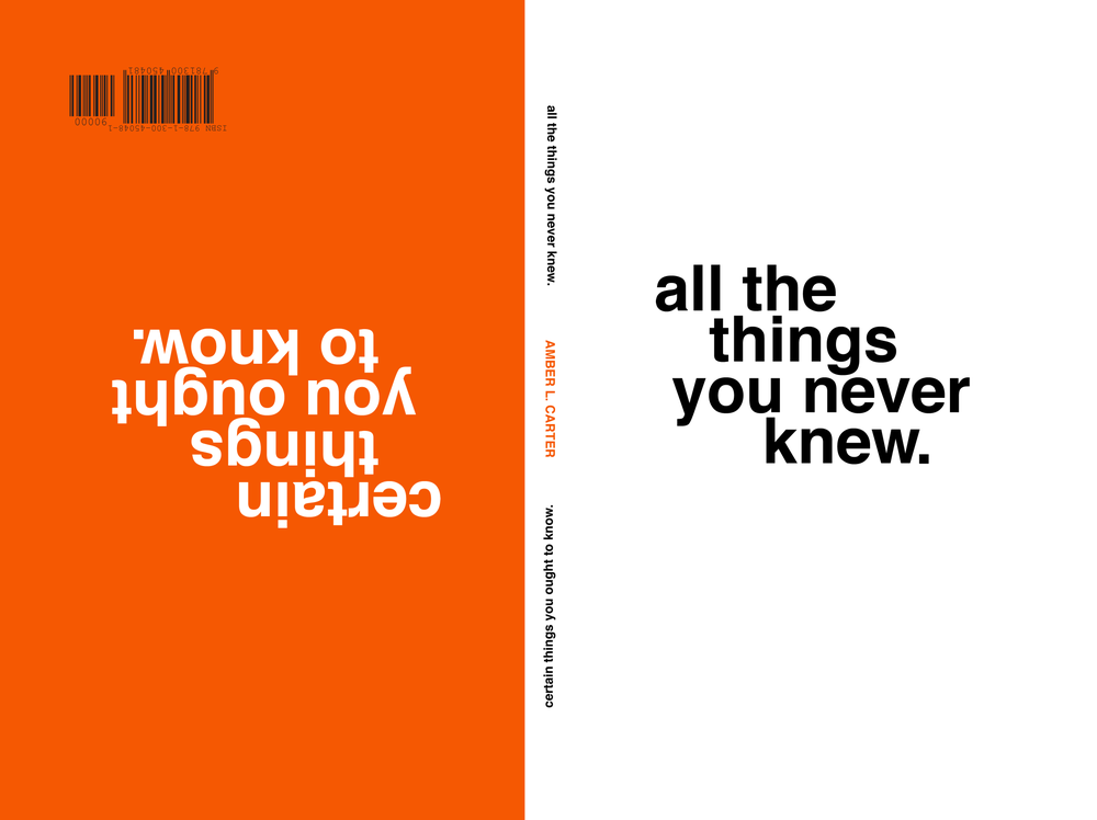 Image of all the things you never knew/certain things you ought to know (signed by author)