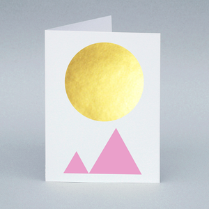 Image of Winter Sun/Mountain card