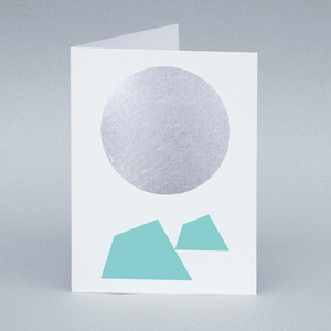 Image of Winter Moon/Iceberg card