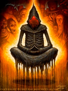 """Image of """"Ego Death"""" Limited Edition Canvas Giclee- 24x30"""