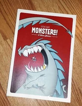 """Image of Gustavo Duarte / """"Monsters! and Other Stories"""" - Signed"""
