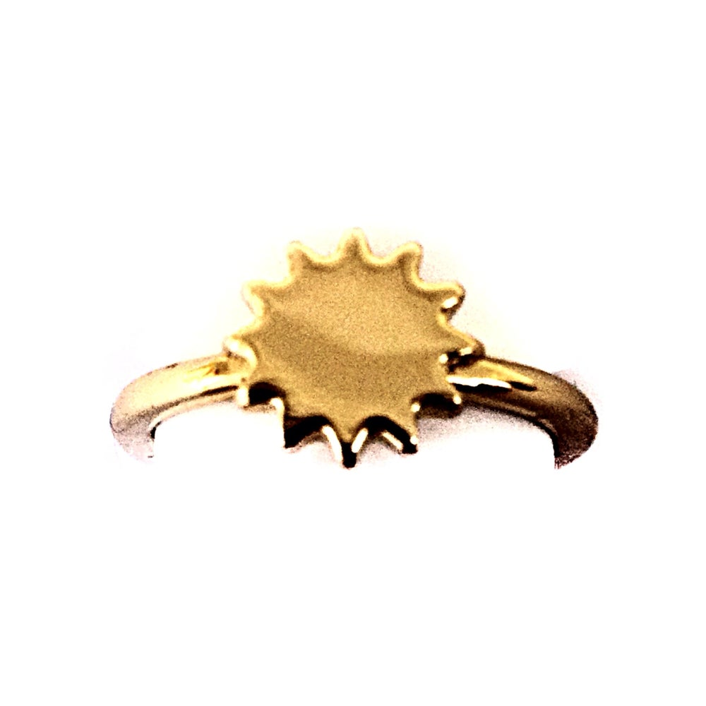 "Image of The ""You Are My Sun.."" Ring"