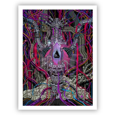 Image of SOUTHERN CROSS giclee print