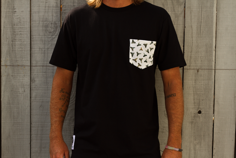 Image of Shark Tooth Pocket Tee