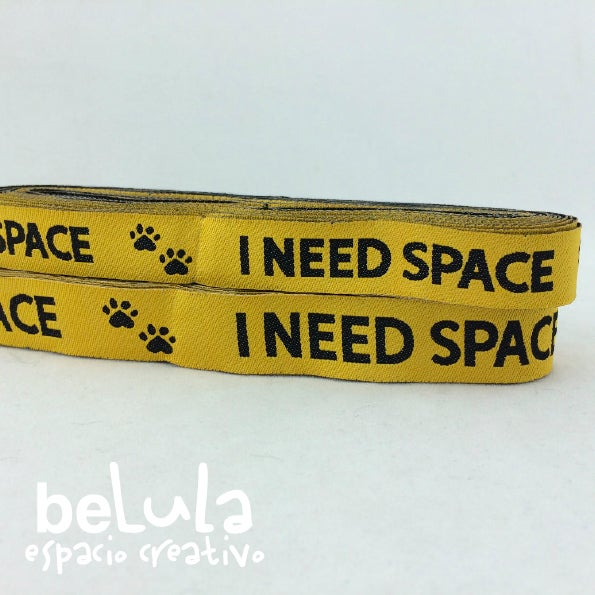 Image of Cinta de tela: Huellas I need space