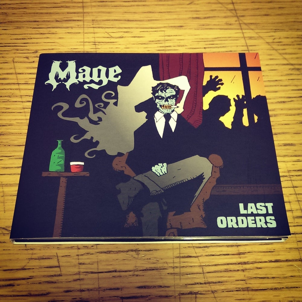 Image of Mage - Last Orders CD