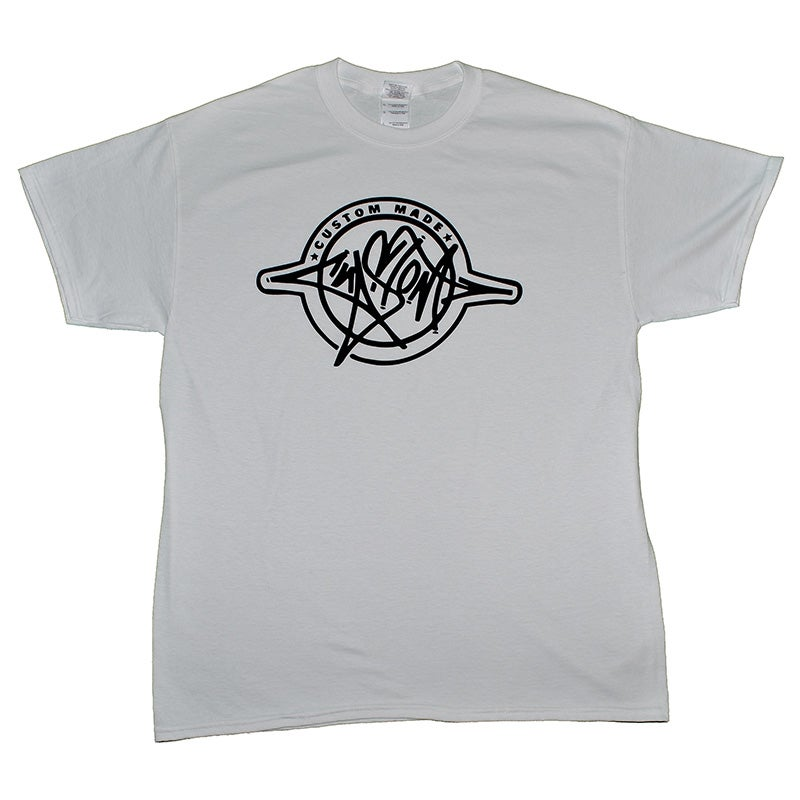 Image of Custom Made T-Shirt (White/Black)