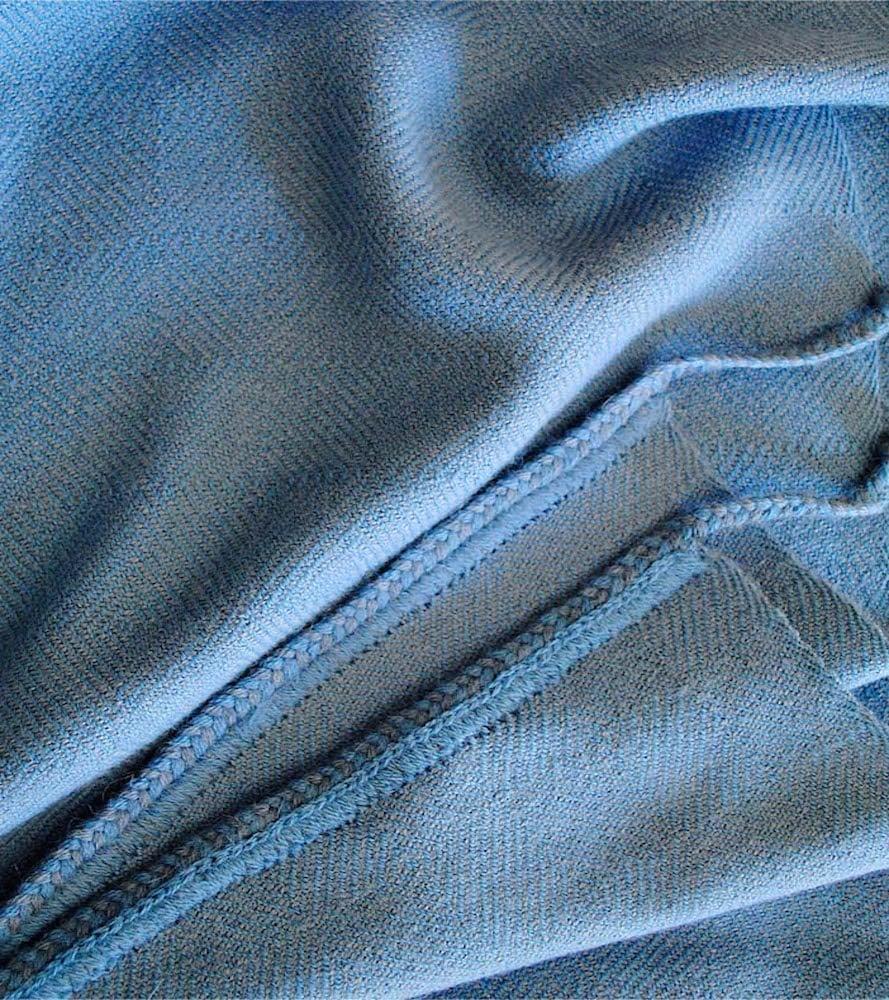 Image of DAKAR BLANKET ocean | indigo (2014)