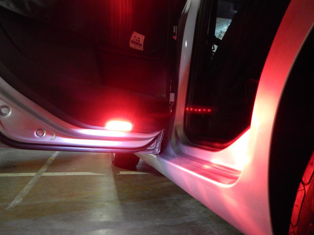 door warning puddle light led fits  volkswagen models deautoled