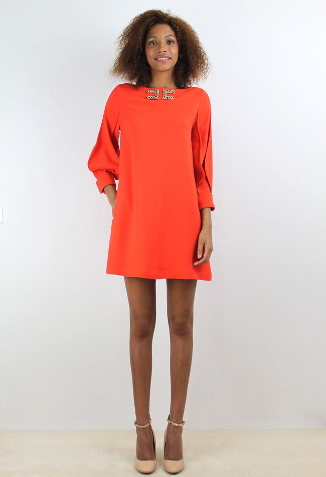 Image of ORANGE DRESS