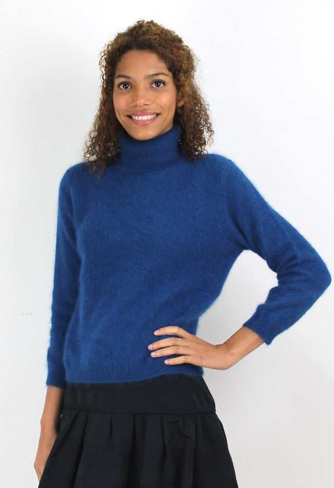 Image of JUMPER WITH ROLL NECK