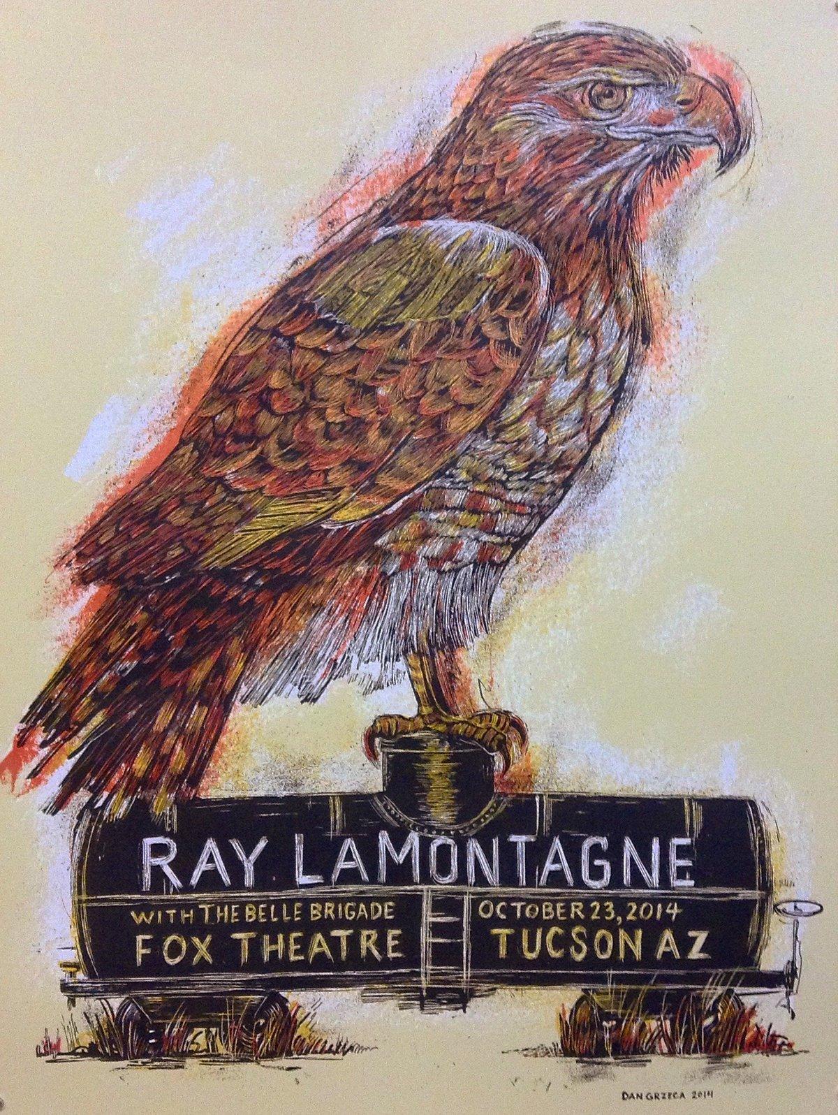 Ray LaMontagne Tucson poster