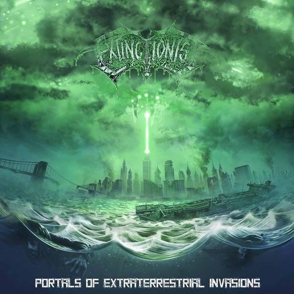 Image of EXTINCTIONIST - Portals Of Extraterrestrial Invasions CD
