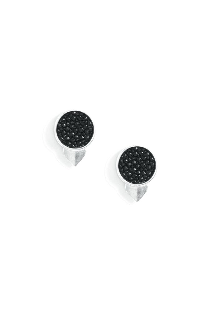 Image of OWL STUDS - SILVER