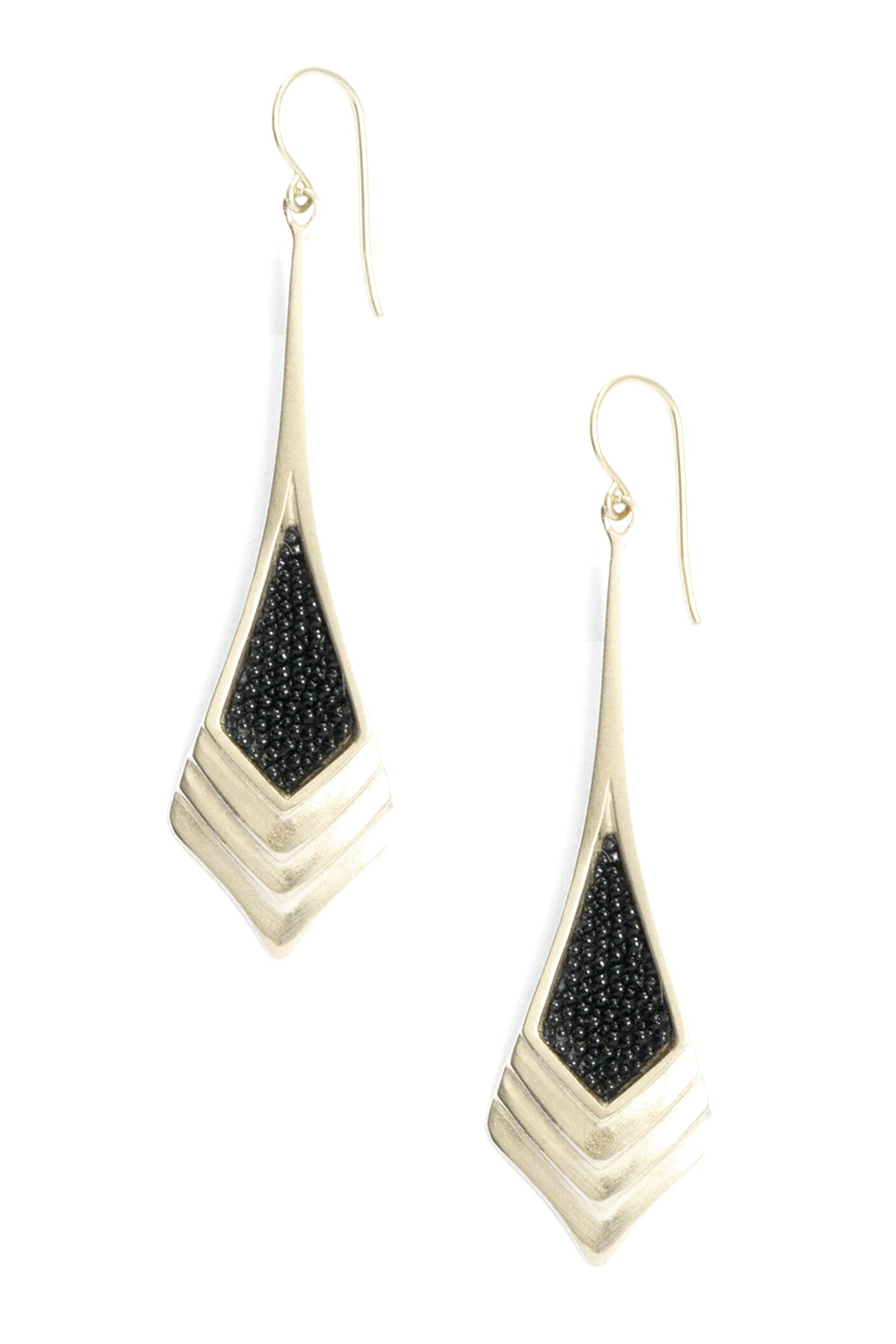 Image of CHRYSLER TOWER EARRINGS
