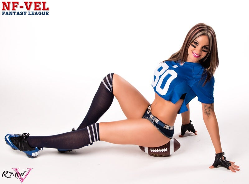 Image of Velvet Sky New York Giants Fantasy Football 18x24 poster