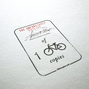 Image of 24AP - The Unforbidden Cyclist