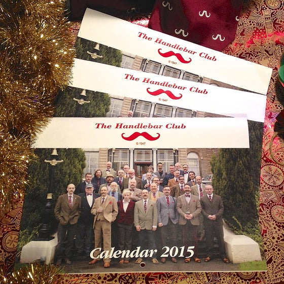 Image of The Handlebar Club 2015 Calendar