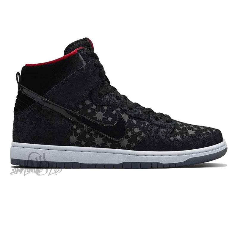 Image of NIKE SB DUNK HIGH PREMIUM - PAPARAZZI - 313171 025