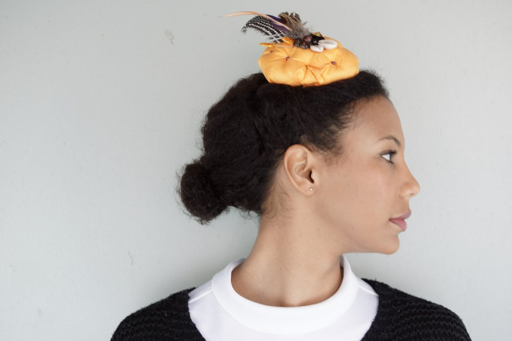 Image of Bouton d'Or Pillbox Fascinator