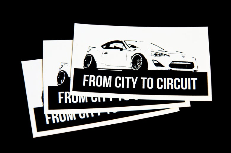Image of FCTC stickers - FREE SHIPPING!