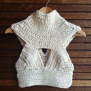 Image of Iris Crochet Bodice