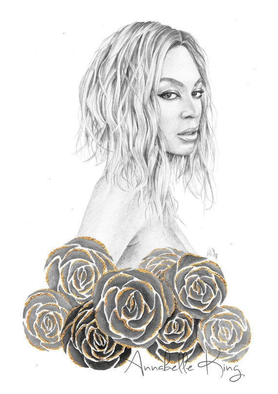 Image of Yonce - Limited Edition Print A4
