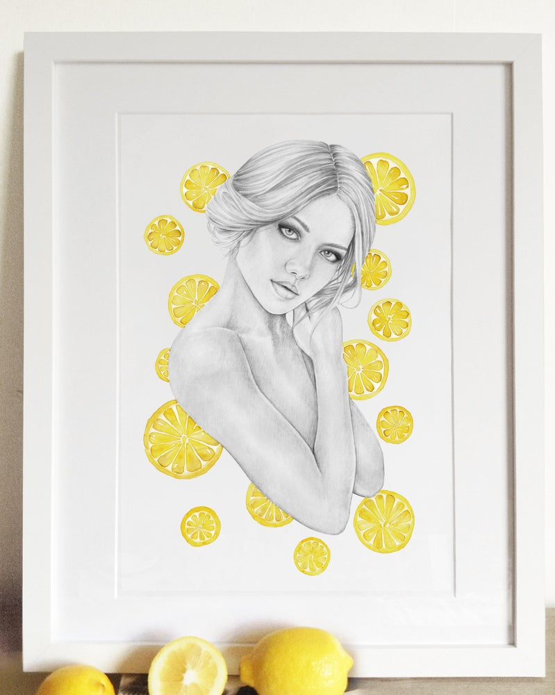 Image of Lemons - Limited Edition Print - A4