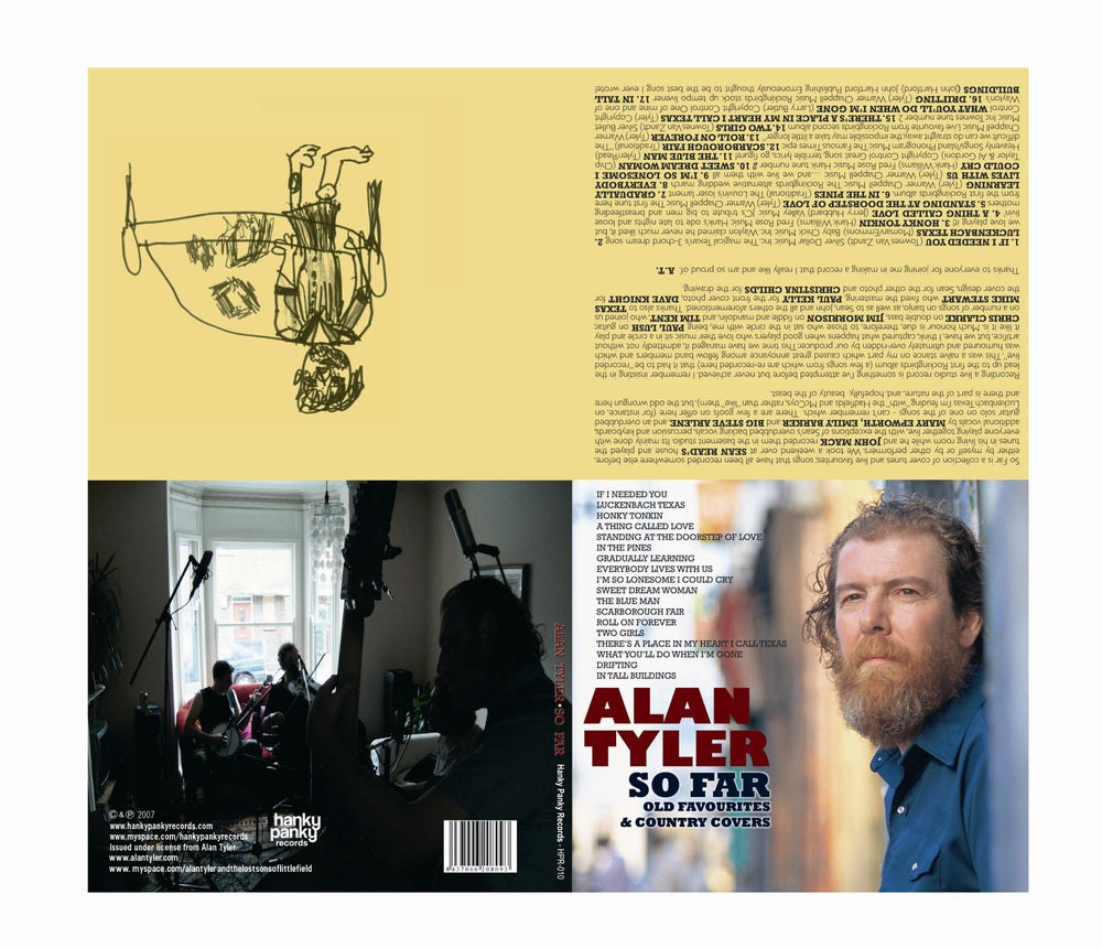 Image of Alan Tyler - So Far (Old Favourites & Country Covers) CD/Digipack