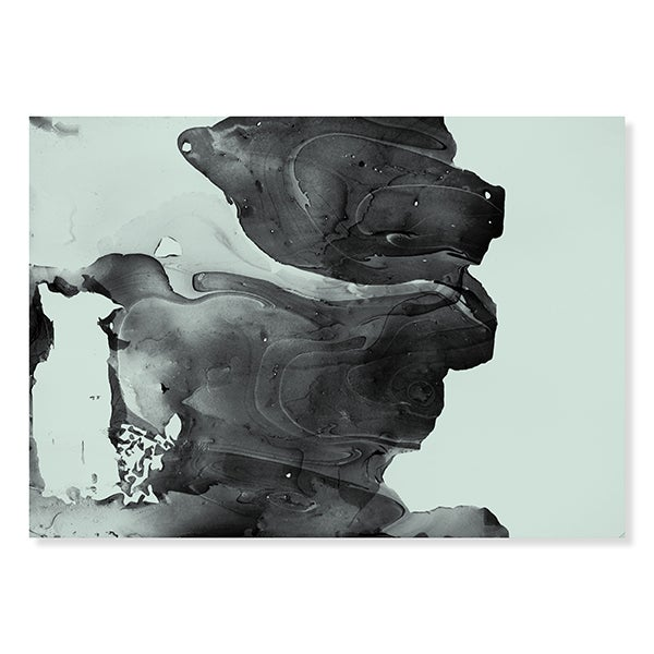 Image of Marble Print / Mint