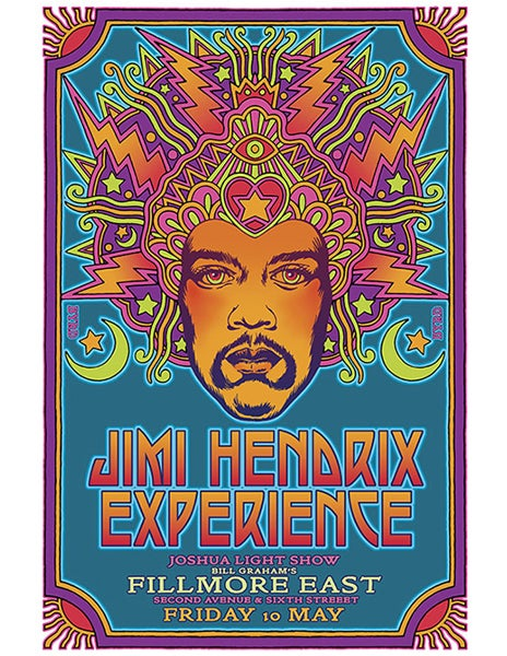 "Image of ""THE JIMI HENDRIX EXPERIENCE"" FIRST CONCEPT - 1968"