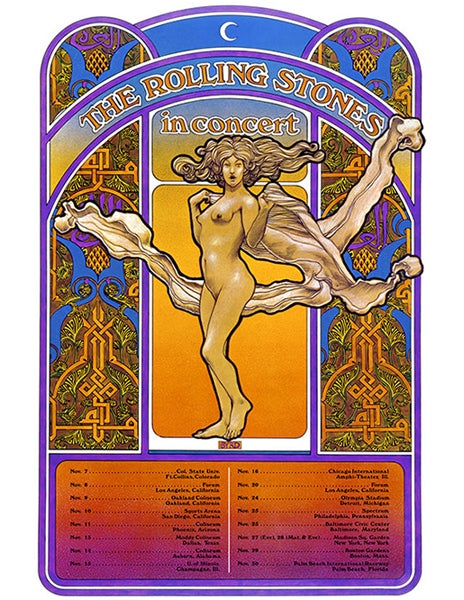 """Image of """"THE ROLLING STONES"""" AMERICAN TOUR - 1969"""
