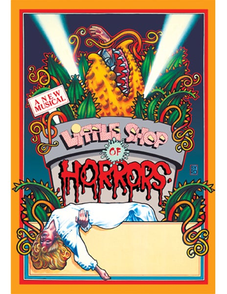 "Image of ""LITTLE SHOP OF HORRORS"" WPA THEATRE - 1982"