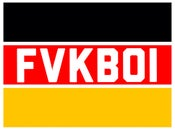 Image of FVKBOI (euro) box sticker