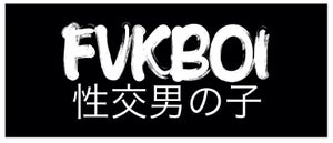 Image of FVKBOI (jdm) box sticker