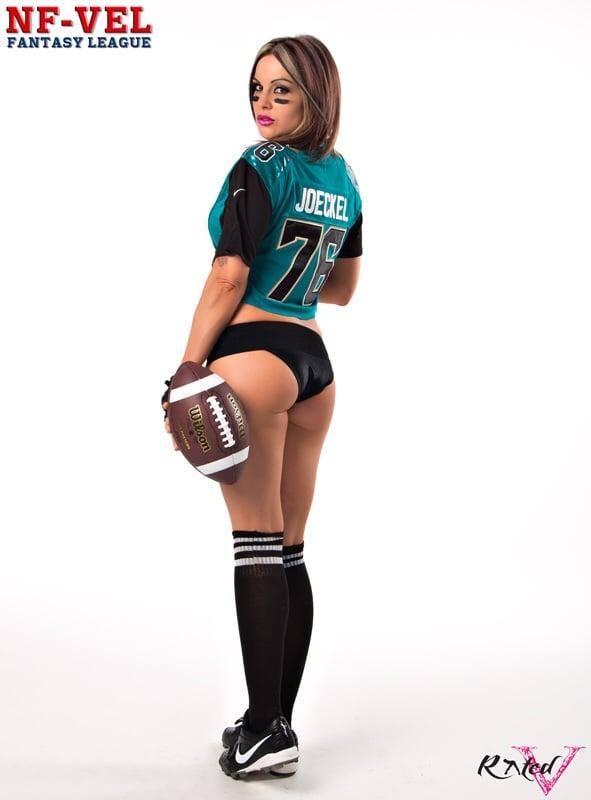 Image of Velvet Sky Jacksonville Jaguars Fantasy Football 18x24 poster
