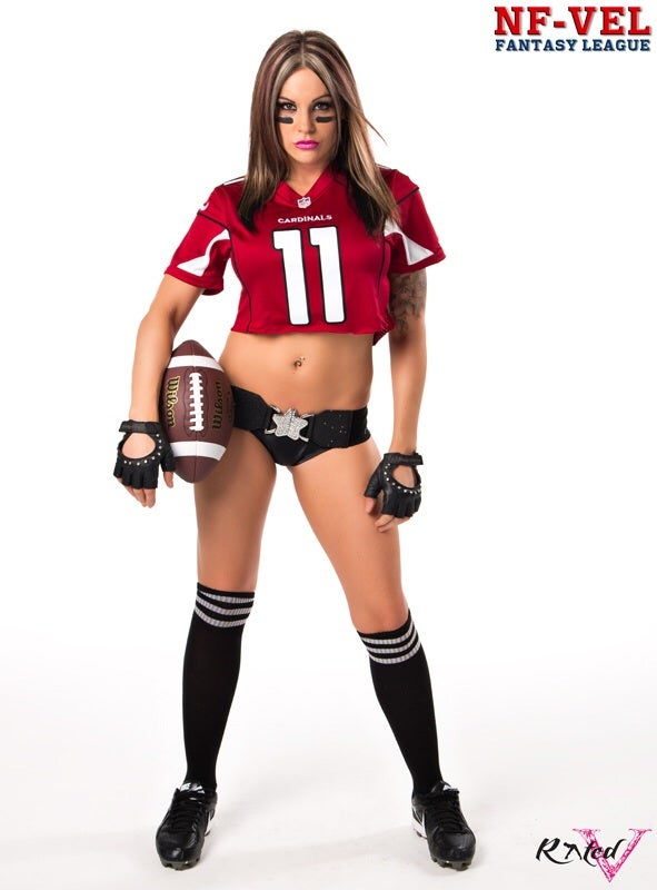 Image of Velvet Sky Arizona Cardinals Fantasy Football 18x24 poster