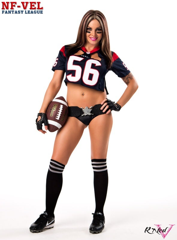 Image of Velvet Sky Houston Texans Fantasy Football 18x24 poster