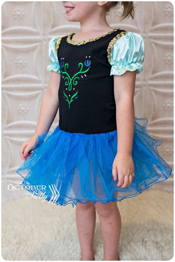 Image of  2T Princess Inspired Leotard with attached Tutu CLEARANCE