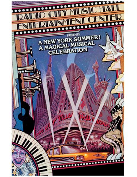 "Image of ""RADIO CITY RESTORATION"" MUSIC HALL MANAGEMENT - 1980"