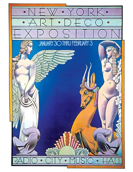 """Image of """"NY ART DECO EXPOSITION"""" - 1974"""