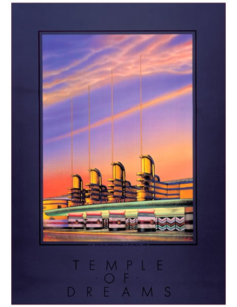 """Image of """"TEMPLE OF DREAMS"""" AMERICAN CINEMATHEQUE - 1985"""