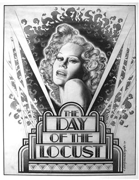 "Image of ""DAY OF THE LOCUST"" Preliminary Drawing - JOHN SCHLESINGER - 1975"