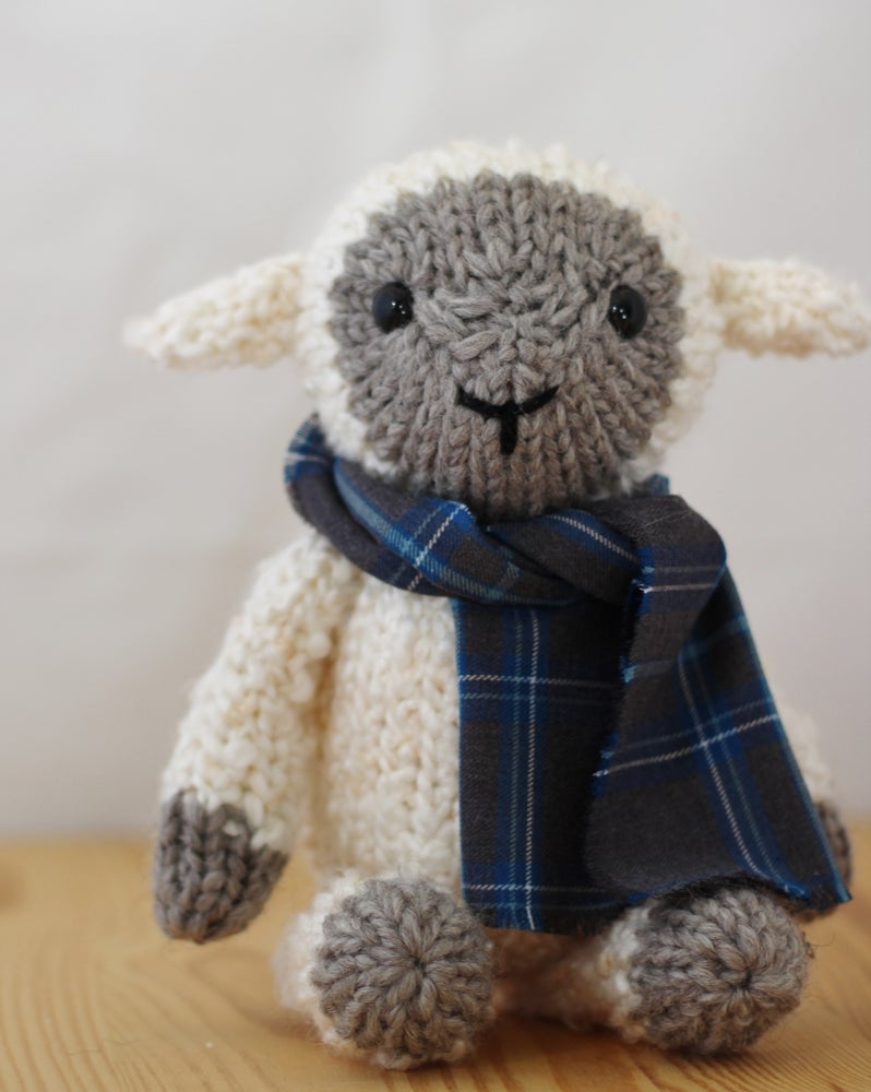 Image of Tahlia The Sheep Knitting Pattern